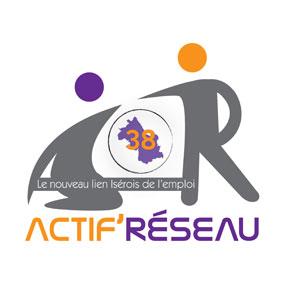 Logo Actif Réseaux - Référence client - Jérôme Adam - Conférencier Entrepreneur