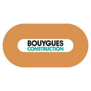 Logo Bouygues Construction - Référence client - Jérôme Adam - Conférencier Entrepreneur