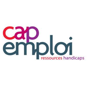 Logo Cap Emploi - Référence client - Jérôme Adam - Conférencier Entrepreneur