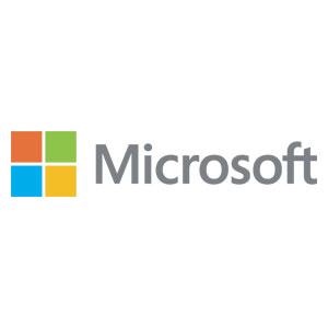 Logo Microsoft - Référence client - Jérôme Adam - Conférencier Entrepreneur