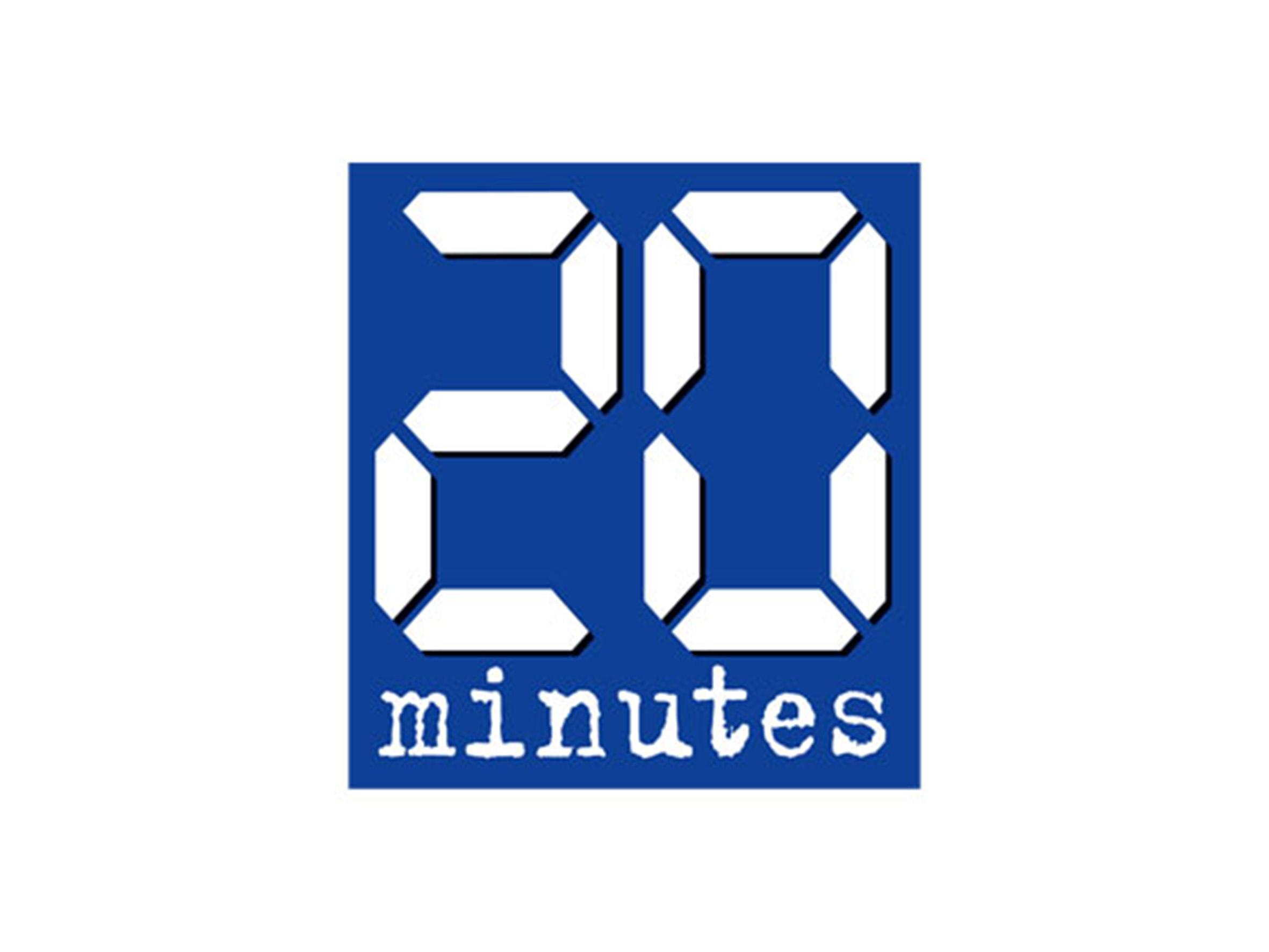 Logo 20 Minutes - Médias - Jérôme Adam - Conférencier Entrepreneur