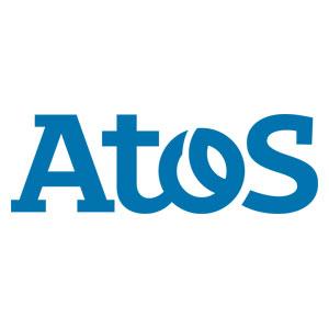Logo Atos - Référence client - Jérôme Adam - Conférencier Entrepreneur