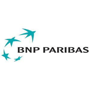 Logo BNP Paribas - Référence client - Jérôme Adam - Conférencier Entrepreneur