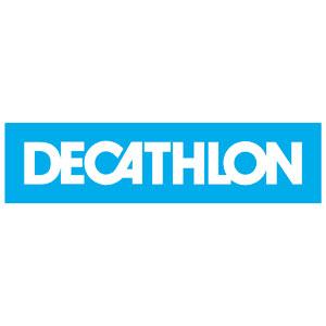 Logo Décathlon - Référence client - Jérôme Adam - Conférencier Entrepreneur
