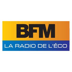 Logo BFM - Médias - Jérôme Adam - Conférencier Entrepreneur