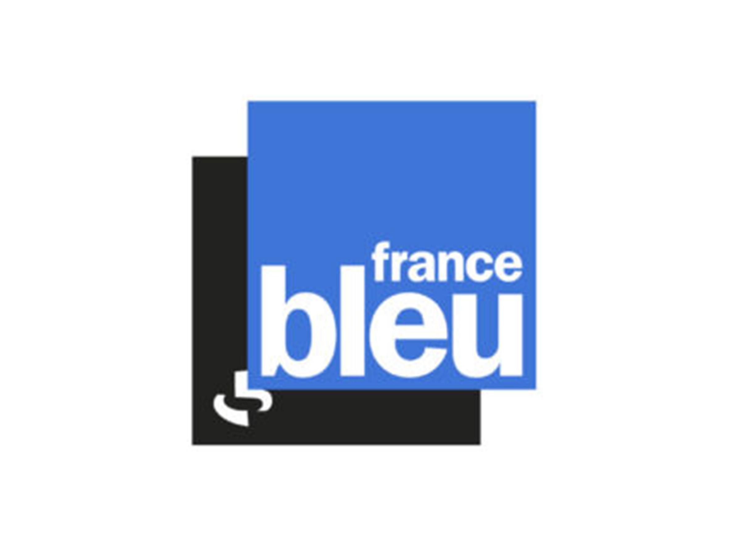Logo France Bleu - Médias - Jérôme Adam - Conférencier Entrepreneur