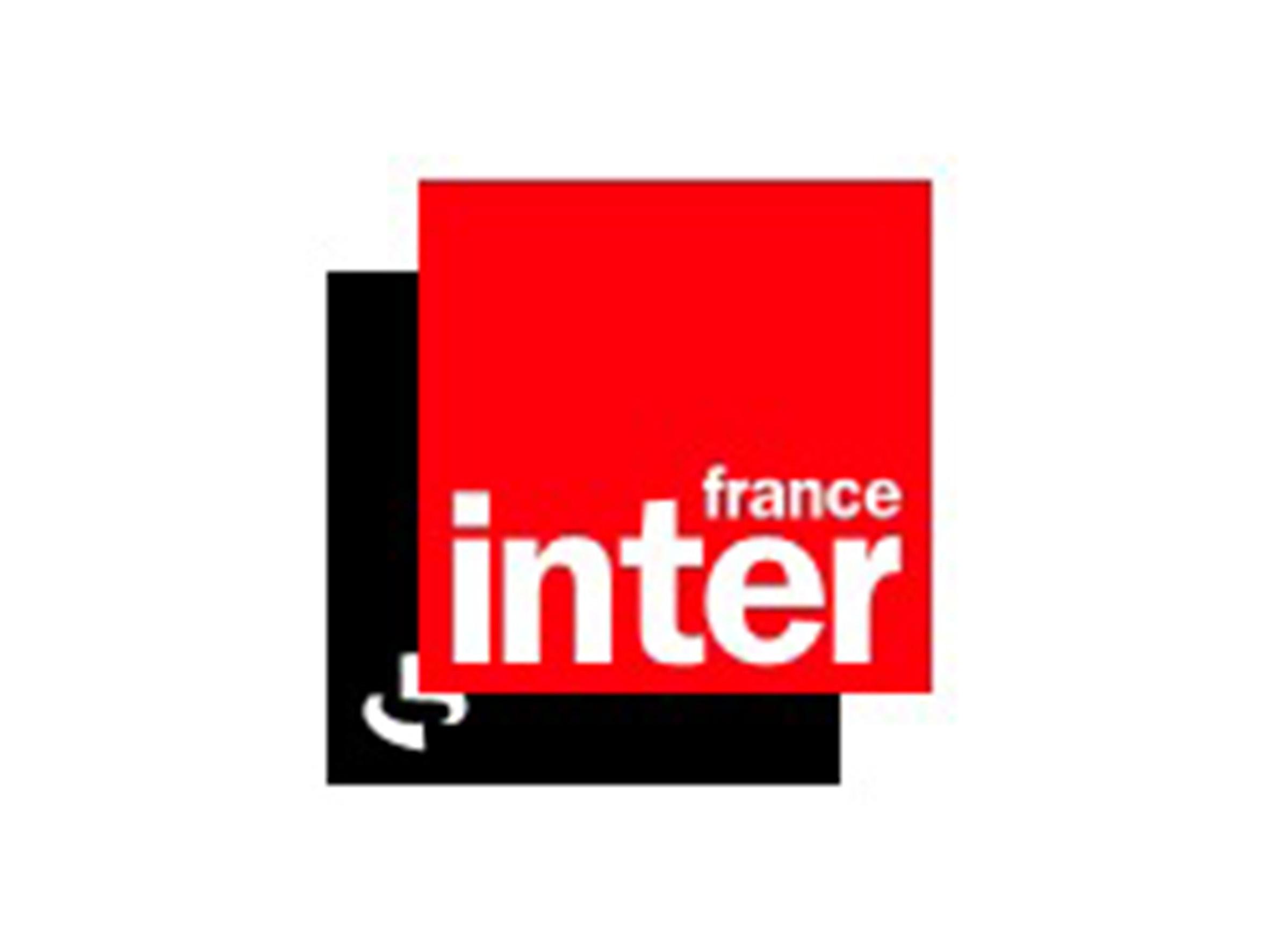Logo France Inter - Médias - Jérôme Adam - Conférencier Entrepreneur