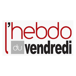 Logo L'Hebdo du Vendredi - Médias - Jérôme Adam - Conférencier Entrepreneur