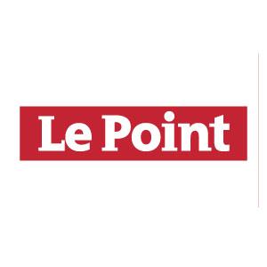 Logo Le Point - Médias - Jérôme Adam - Conférencier Entrepreneur