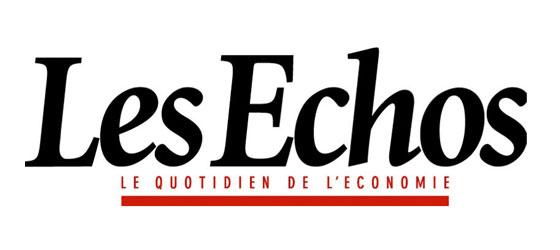 Logo Les Echos - Médias - Jérôme Adam - Conférencier Entrepreneur