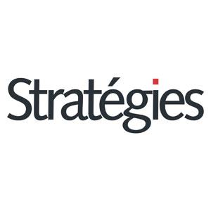 Logo Stratégies - Médias - Jérôme Adam - Conférencier Entrepreneur
