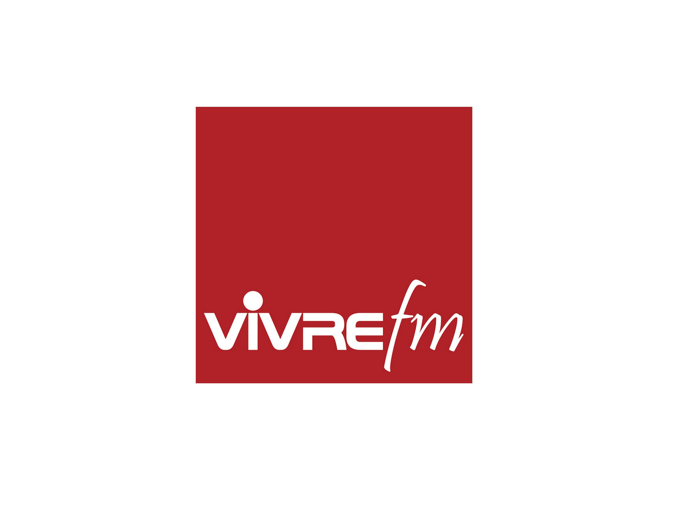 Logo Vivre FM - Médias - Jérôme Adam - Conférencier Entrepreneur