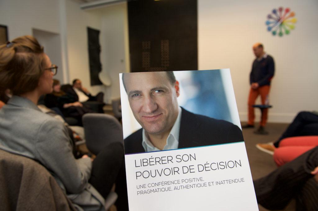 Lancement officiel de ma nouvelle conférence « Libérer son pouvoir de décision »
