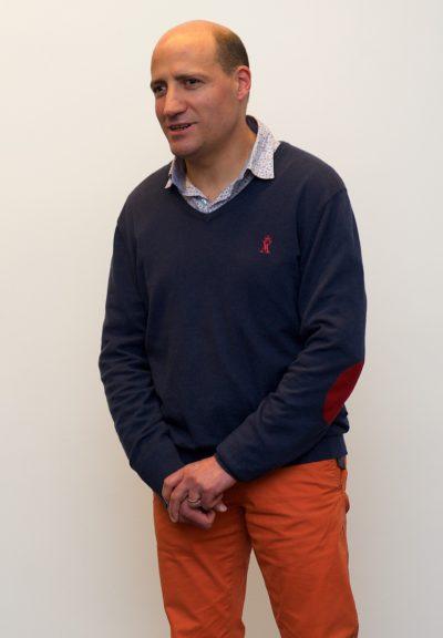 Photo de Jérôme Adam en conférence